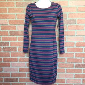 LulaRoe Dress NWT Debbie XXS striped (DD35)